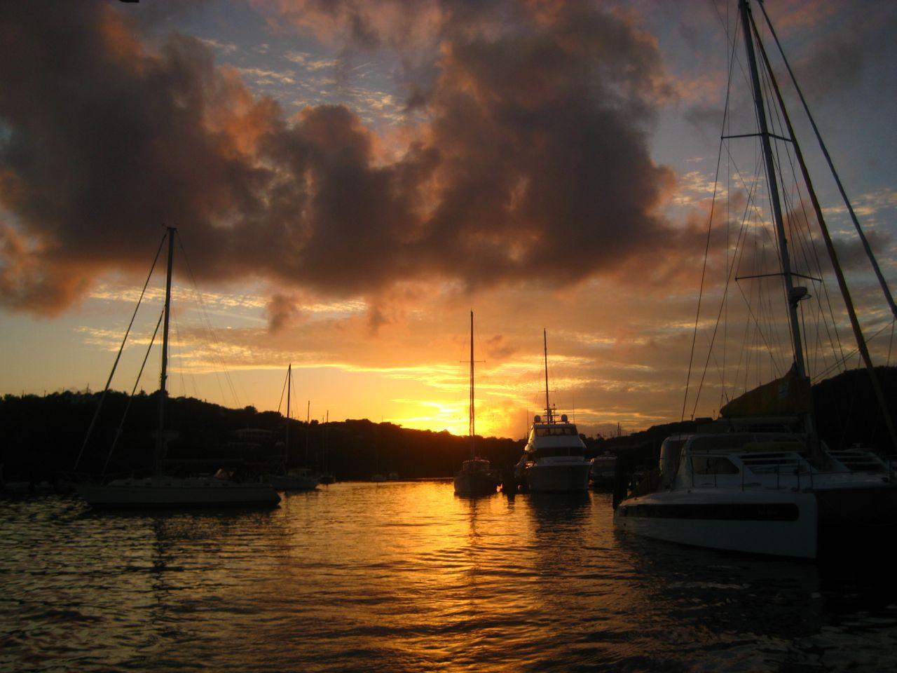American Yacht Harbor, St Thomas