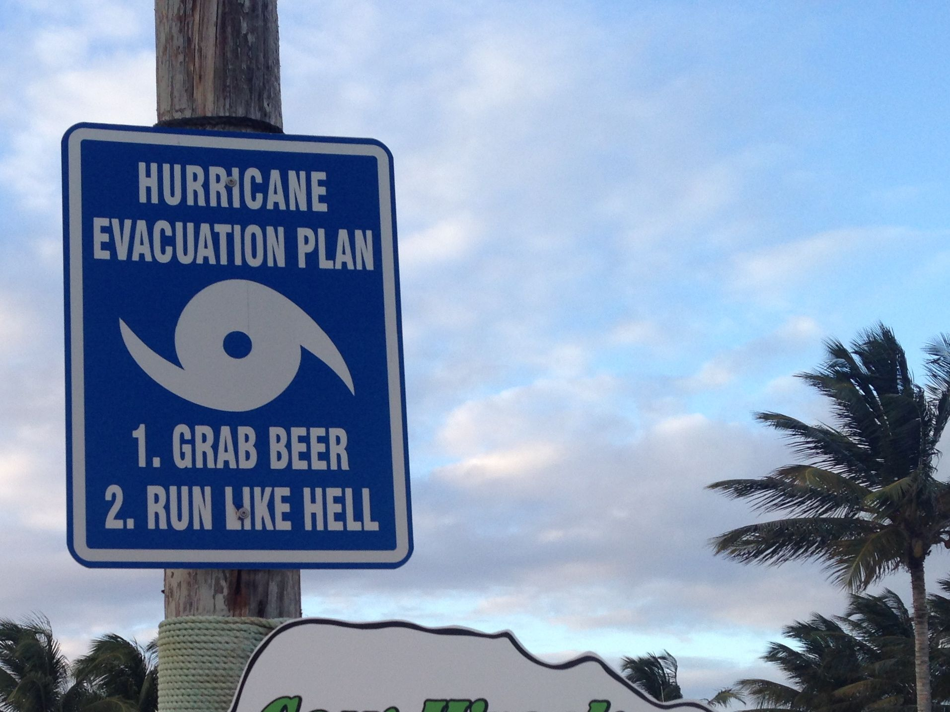Hurricane Evacuation Plan