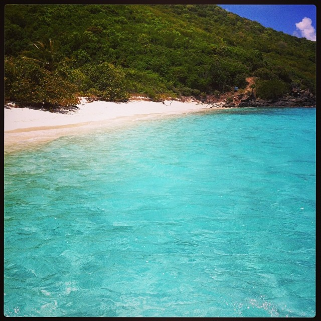 Womderful White Bay. Probably the most famous part of Jost Van Dyke, White Bay has thousands of visitors each year. We are here now. Where are you?