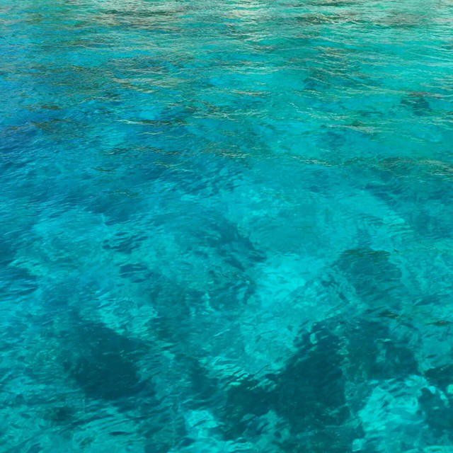 Caribbean Blue.