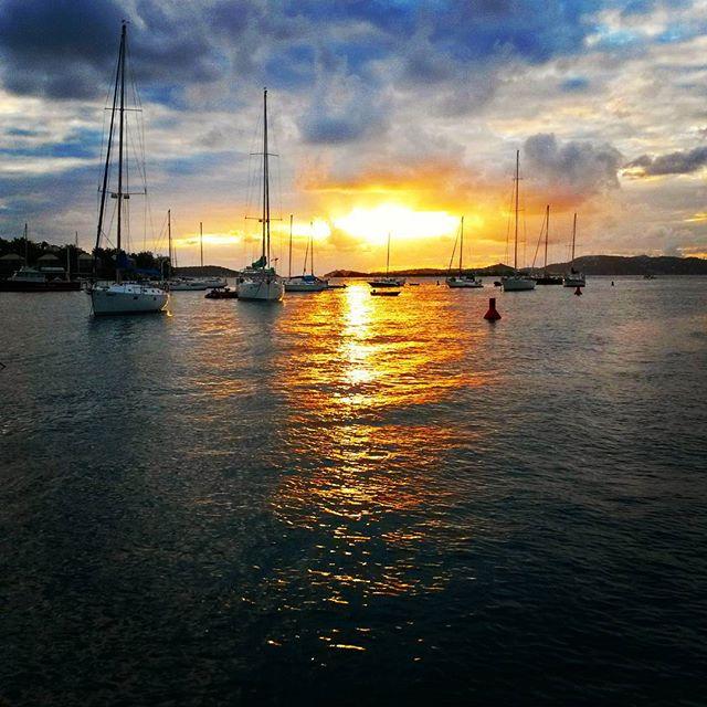Sunset St John.
